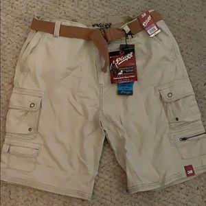 Men's Plugg Cargo Shorts Size 38